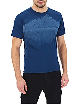 Jack Wolfskin Short Sleeve Graphic T-Shirt
