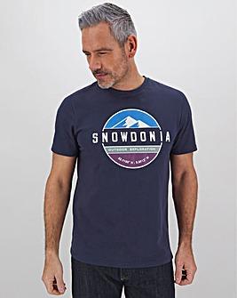 Snowdonia Logo T-Shirt Regular
