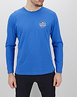 Snowdonia Long Sleeve Logo T-Shirt Long