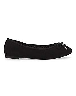 Flat Ballerina Shoes Extra Wide Fit