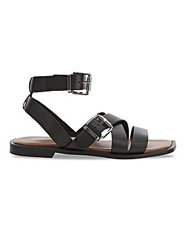 Bianca Leather Sandals Extra Wide Fit
