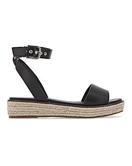Connecticut Flatform Espadrille Sandals Wide Fit