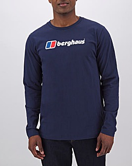 Berghaus Big Corporate Logo Long Sleeve T-Shirt