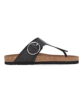 Leather Toepost Sandals Standard Fit
