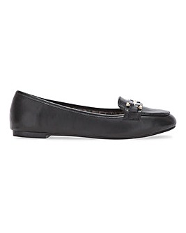 Tyche Metal Trim Loafer Extra Wide Fit