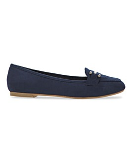 Tyche Metal Trim Loafer Wide Fit