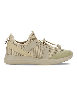 Geraldton Sporty Lace Up Trainers Wide Fit