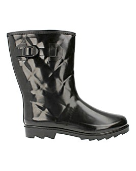 Stormy Quilted Effect Wellies Standard Fit