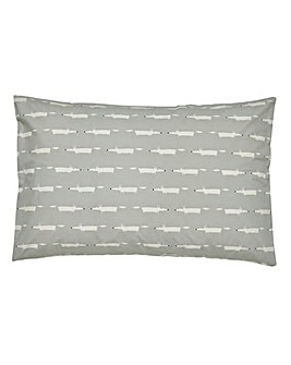 Scion Mr Fox Silver Pillowcases