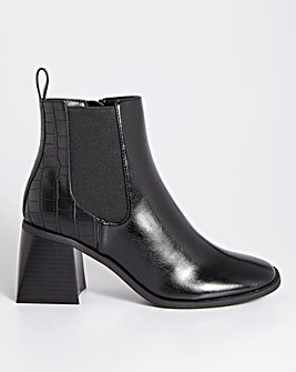 Samira Heel Ankle Boots Extra Wide Fit