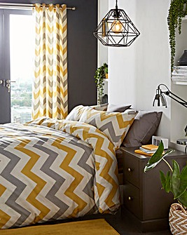 Fusion Chevron Duvet Cover Set