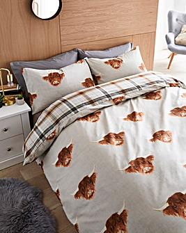 Fusion Highland Cow Duvet Cover Set
