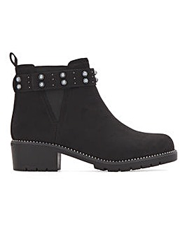 Jaelyn Ankle Boots Wide Fit
