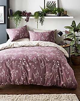 Serenity Heather Reversible Duvet Set