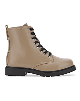 Lace Up Ankle Boots Extra Wide Fit