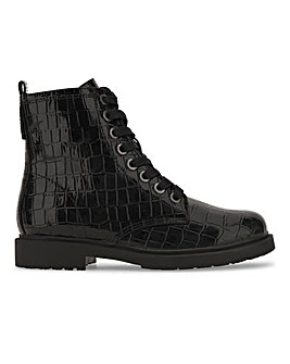 Cleo Lace Up Ankle Boots Extra Wide Fit