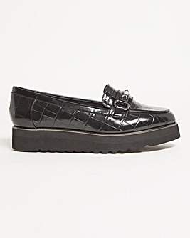 Aimee Flat Shoes Wide Fit