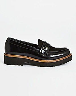 Chunky Loafers Extra Wide Fit