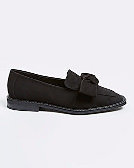 Marley Flat Shoe Extra Wide Fit