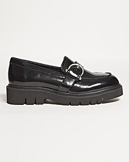 Kamila Chunky Shoes Wide Fit