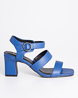 Zuri Heeled Sandals Extra Wide Fit