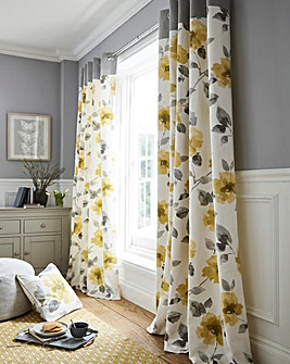 Adriana Print Eyelet Curtains