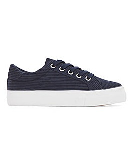 Amina Chunky Cord Trainers Extra Wide Fit