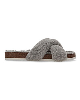 Collins Footbed Slipper Wide Fit