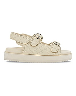 Jude Quilted Touch And Close Sandal Wide
