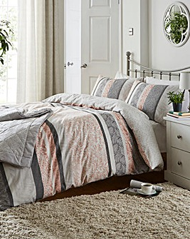 Hanworth Reversible Duvet Cover Set