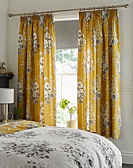 Mirabella Ochre Curtains