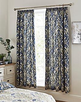 Venito Blue Curtains