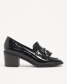 Sophie Heeled Loafers Extra Wide Fit