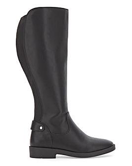 Hattie Stretch Boot Extra Wide Fit Curvy Calf