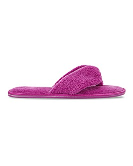 Rachy Toe Post Slippers Wide Fit