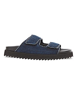 Beatriace Touch And Close Sandal Extra Wide Fit