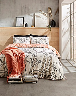 Nala Piped Reversible Duvet Cover Set