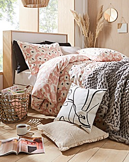 Elin Piped Duvet Cover Set