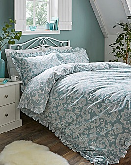 Madeline Printed Reversible Duvet Set