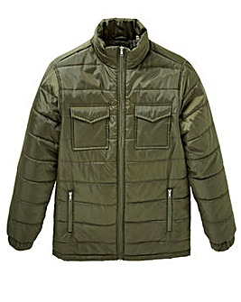 WILLIAMS & BROWN Khaki Padded Jacket