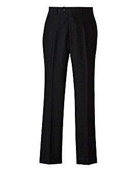 W&B London Black Slim Fit Tonic Trousers 31 inch