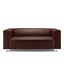 Taylor Faux Leather Three Seater Sofa
