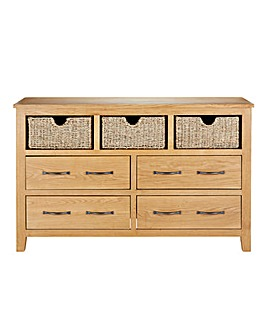 Dorset 3-over-4 Chest of Drawers