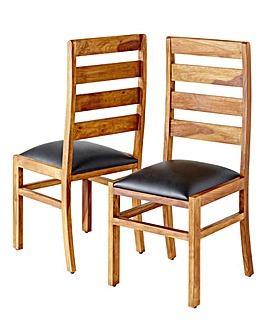 Origen Sheesham Wood Dining Chairs
