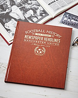 History Of Football Club Book Brown