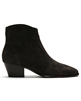 Ash Heidi BIS Suede Western Ankle Boots