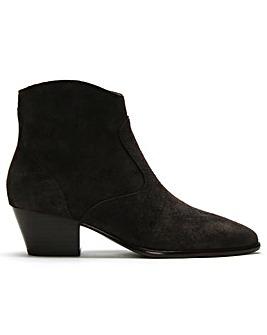 Ash Heidi BIS Suede Western Ankle Boots