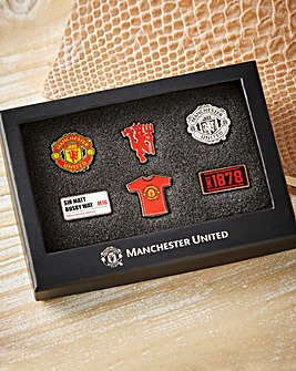 Football Team 6 Piece Badge Set