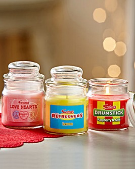 Swizzels Jar Candle - Set of 3