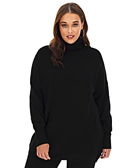 Super Soft Roll Neck Tunic